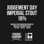 Judgement Day Stout (Collab Hyllie Bryggeri)