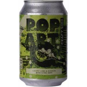 Pop Art Soda Lime & Ginger