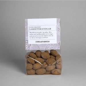 Choklad och lakritsmandlar