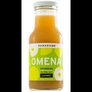Ekologisk äppeljuice
