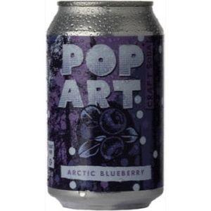 Pop Art Soda Arctic Blueberry