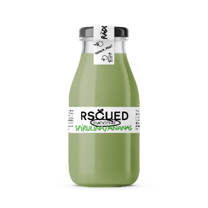 RSCUED Spirulina/Ananas Smoothie, 25 cl