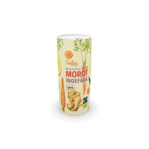 Juice Morot/Ingefära EKO/Fairtrade 235 ml