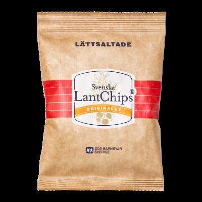 LantChips 40g Lättsaltade