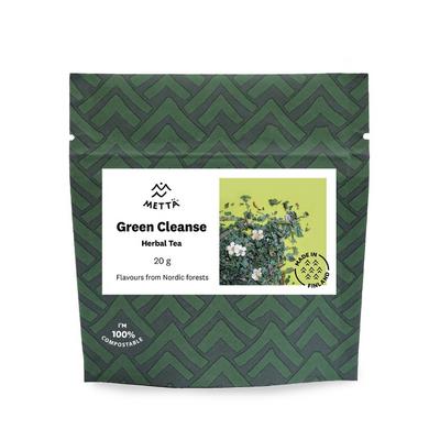 Green cleanse herbal tea 20G