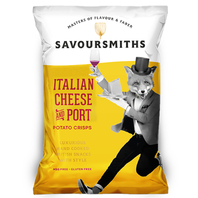 Italian Cheese & Port Chips