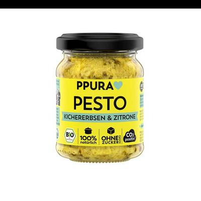 Pesto kikärter/citron