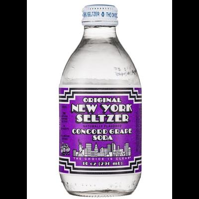 NEW YORK SELTZER GRAPE SODA