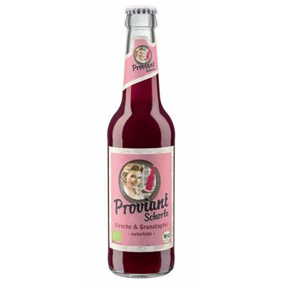 Granatäpple & körsbärslemonad (Flaska 330ml)