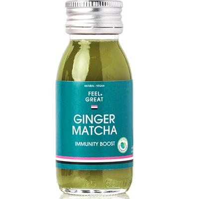 Shot Ingefära/Matcha