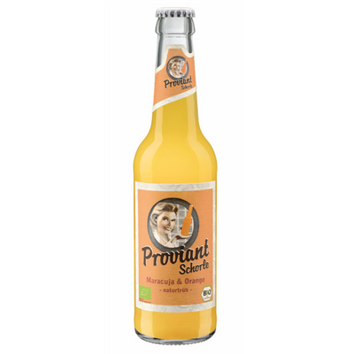 Passionsfrukt & apelsinlemonad (Flaska 330ml)