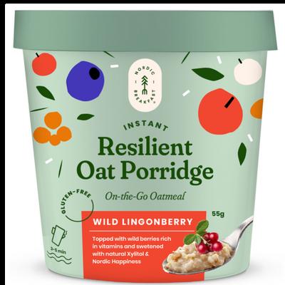 Resilient Oat Porridge - Wild Lingonberry