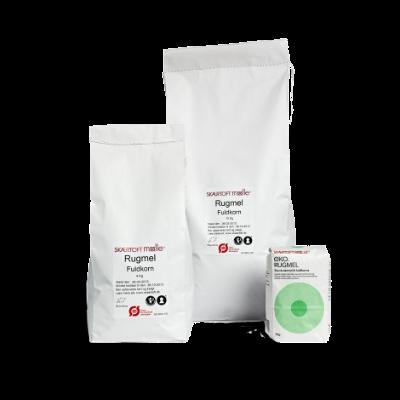 Eko Rågmjöl, Fullkorn 10 Kg (ØKO Rugmel, fuldkorn 10 kg)