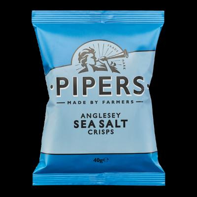 Anglesey Sea Salt Crisps 24x40 g