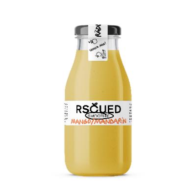RSCUED Mango/Mandarin Smoothie, 25 cl