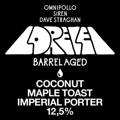 Lorelei Barrel Aged Imperial Porter 12.5 %